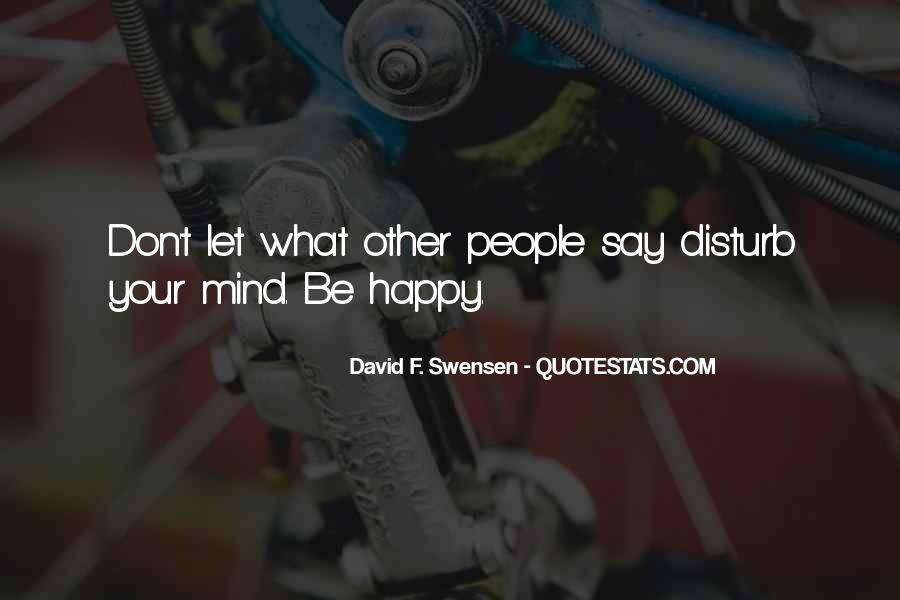 Please Don Disturb Quotes #188826