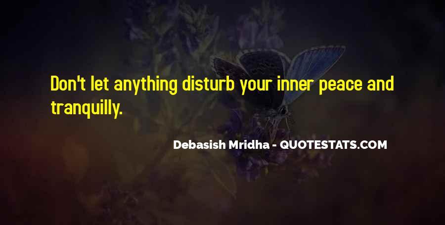 Please Don Disturb Quotes #28605