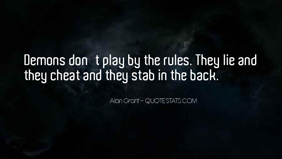 Please Don't Cheat Quotes #205185