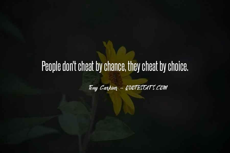 Please Don't Cheat Quotes #284415