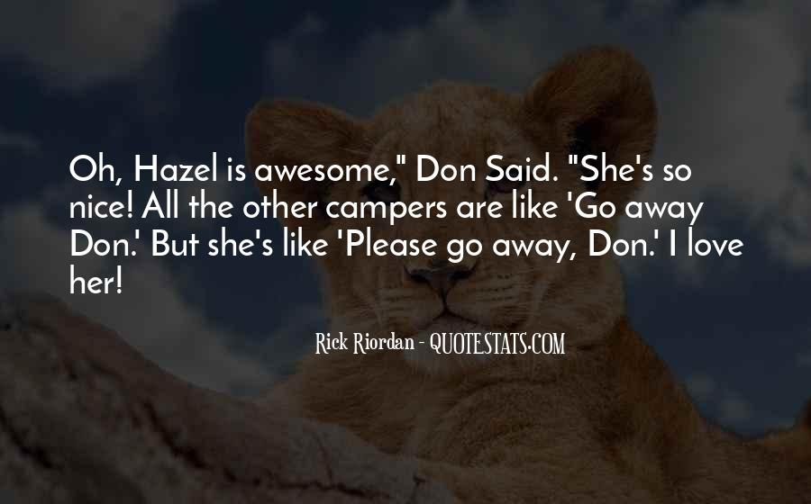 Please Don't Go Love Quotes #64123