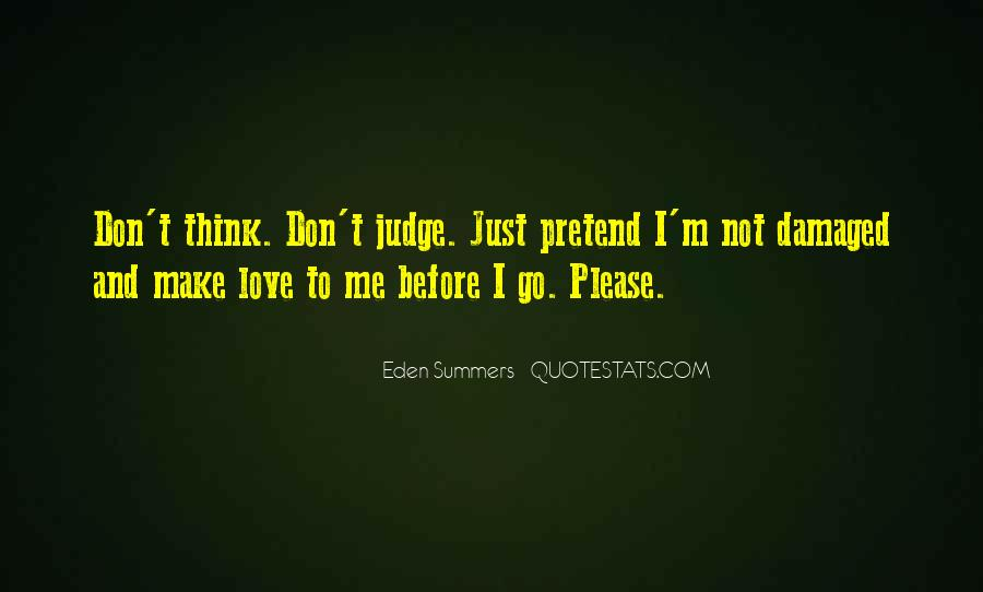 Please Don't Go Love Quotes #902046