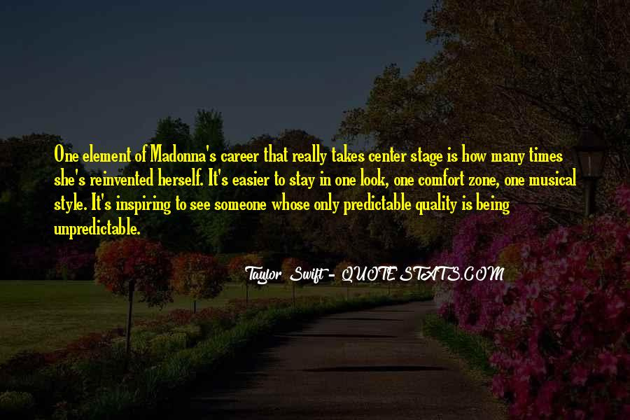 Quotes About Being Predictable #1410458