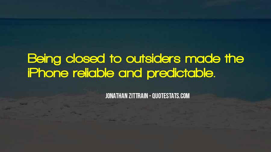 Quotes About Being Predictable #1498750