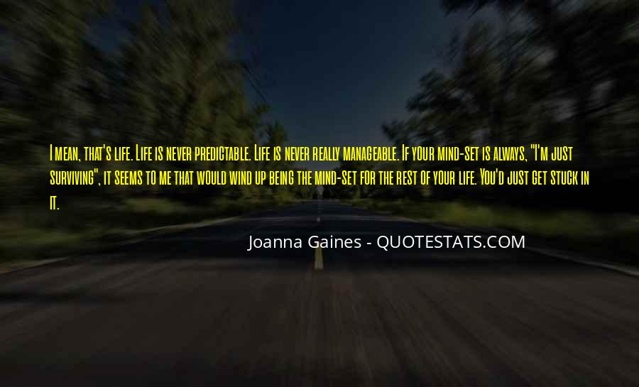 Quotes About Being Predictable #1518424