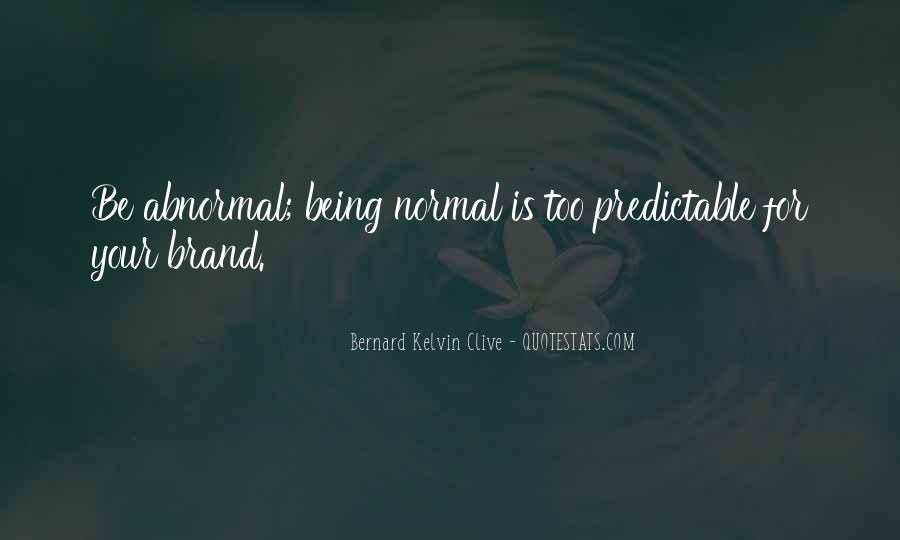 Quotes About Being Predictable #1758479