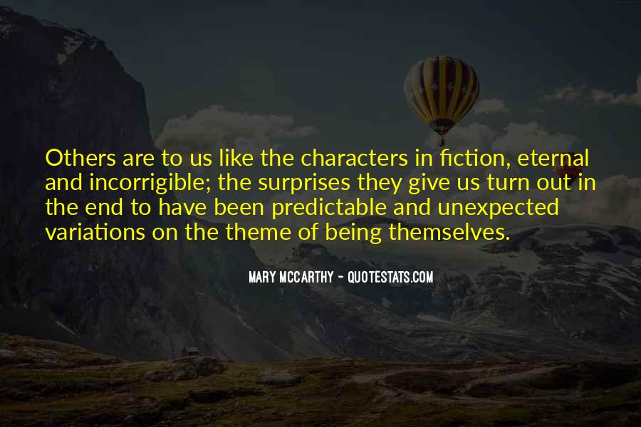 Quotes About Being Predictable #1875250
