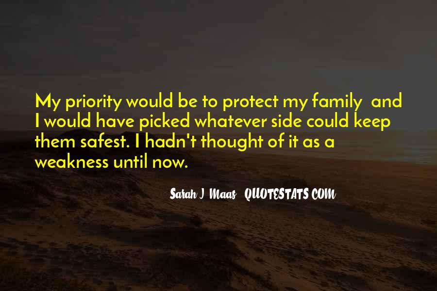 Please Protect My Family Quotes #149870