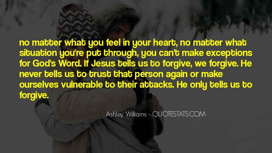 Please Trust Me Again Quotes #147809