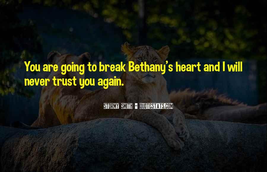 Please Trust Me Again Quotes #232161
