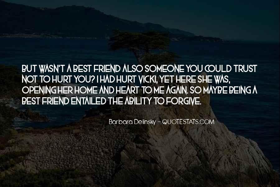 Please Trust Me Again Quotes #261102
