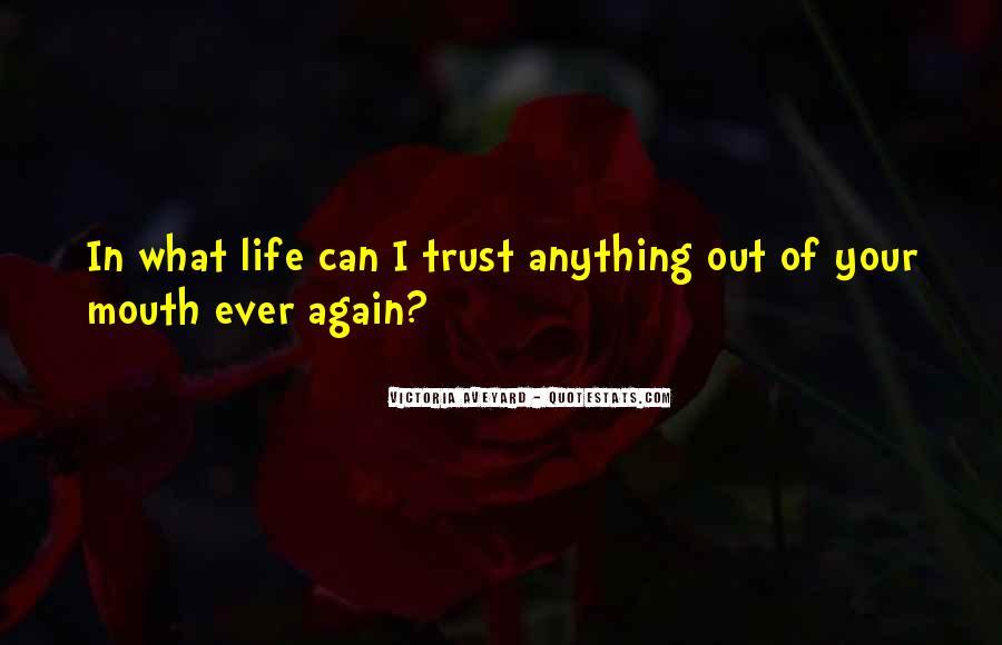 Please Trust Me Again Quotes #269525