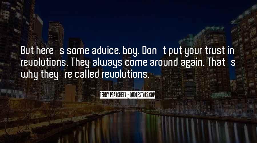 Please Trust Me Again Quotes #306784