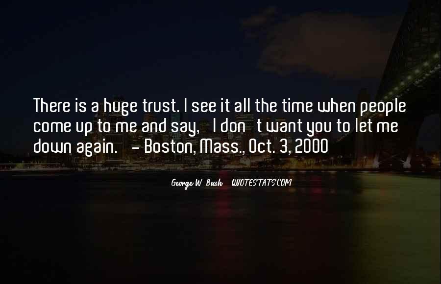 Please Trust Me Again Quotes #321140