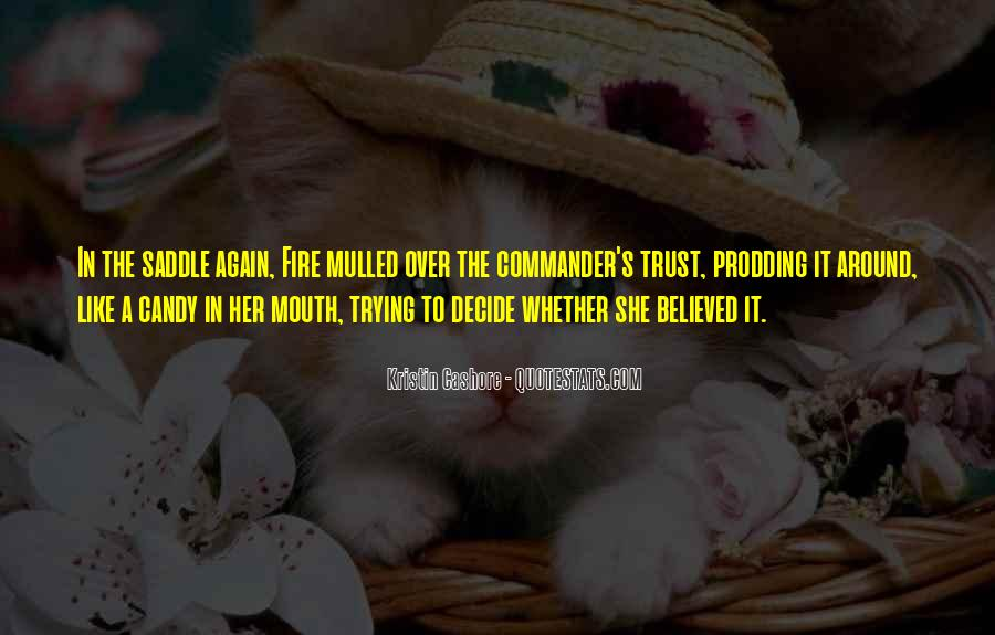 Please Trust Me Again Quotes #41417