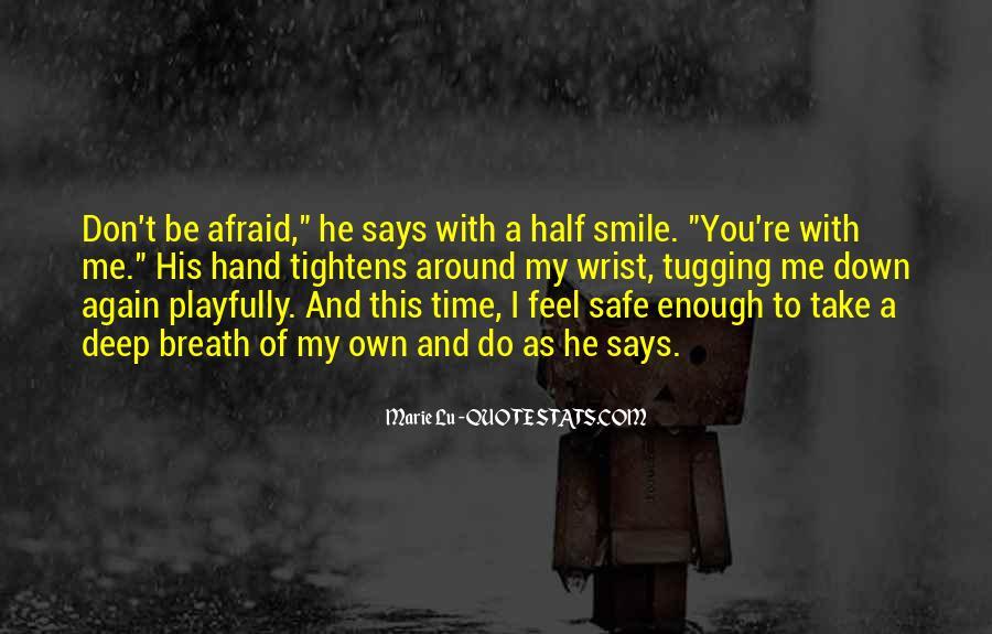 Please Trust Me Again Quotes #70203