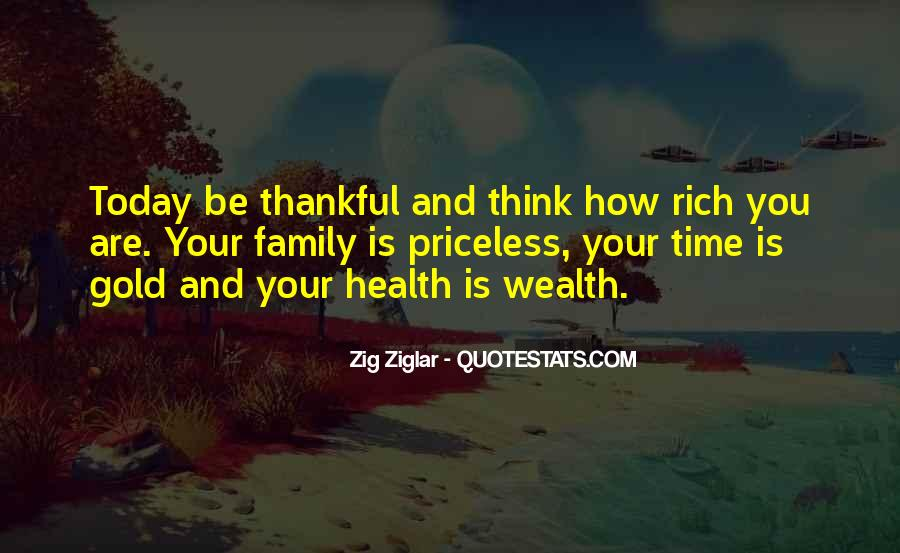 Quotes About Being Thankful For My Family #1837174