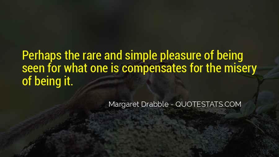Pleasure In Simple Things Quotes #789654