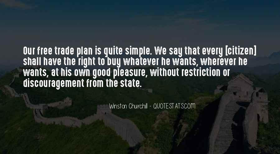 Pleasure In Simple Things Quotes #834137