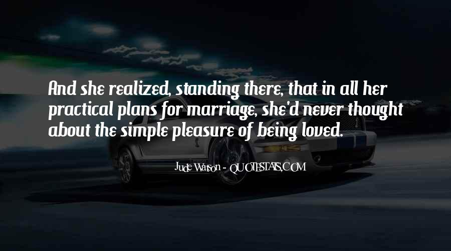 Pleasure In Simple Things Quotes #870895
