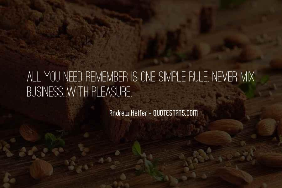 Pleasure In Simple Things Quotes #949283