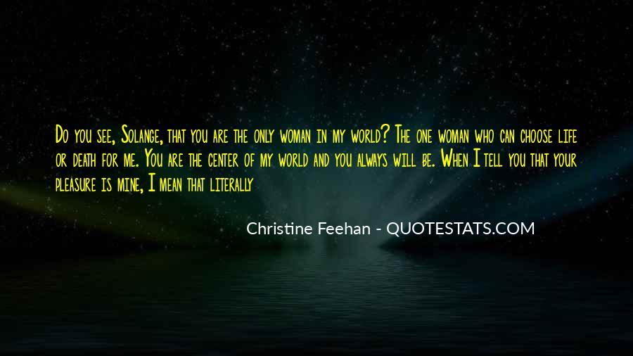 Pleasure Your Woman Quotes #511068