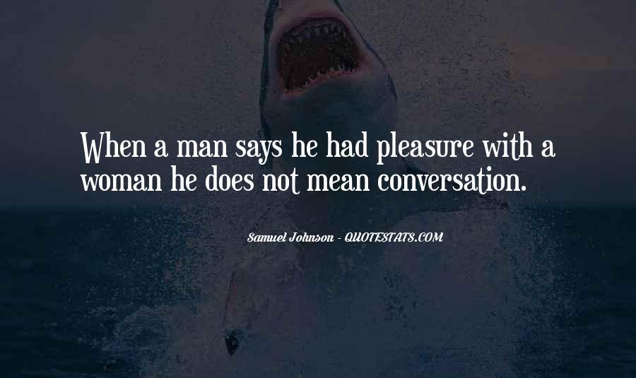 Pleasure Your Woman Quotes #583703