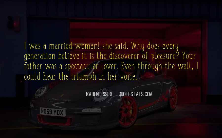 Pleasure Your Woman Quotes #933764