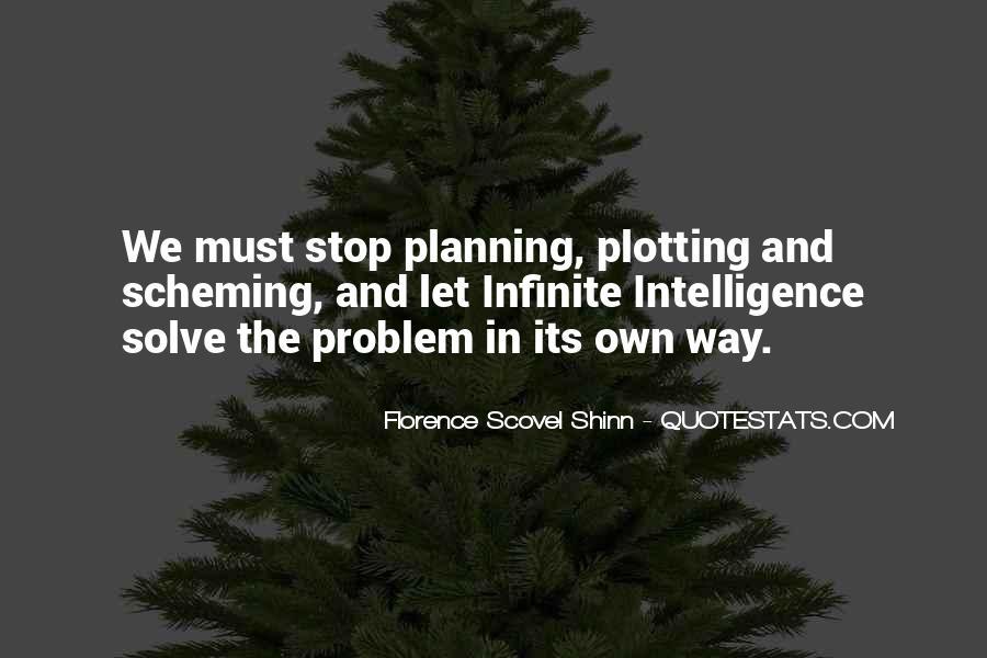 Plotting Scheming Quotes #884384