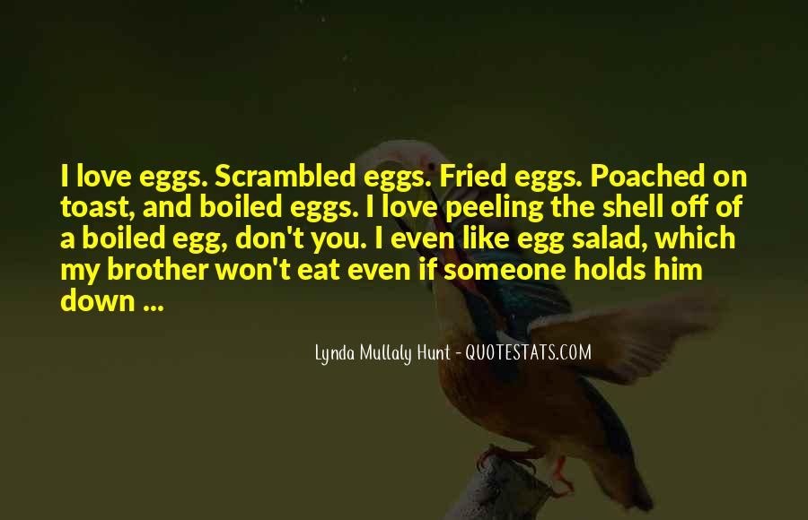 Poached Egg Quotes #1046646