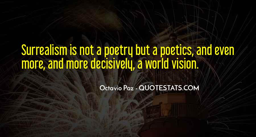 Poetry Surrealism Quotes #1564249