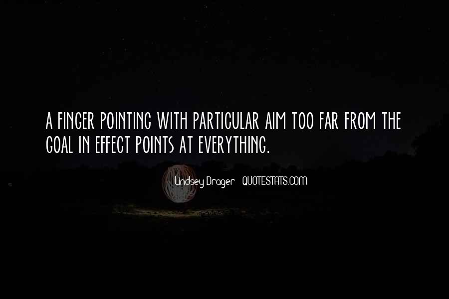 Pointing Finger Quotes #1217415