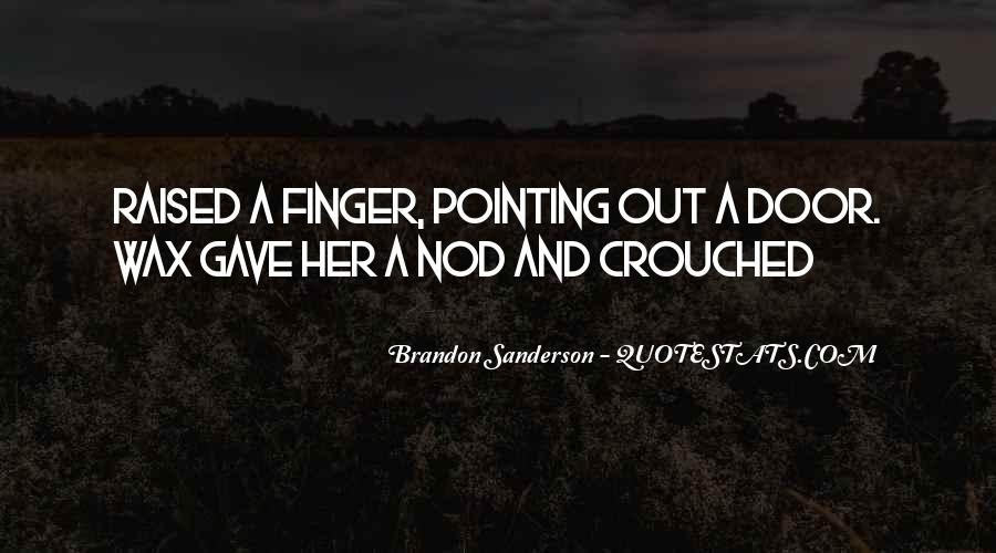 Pointing Finger Quotes #126425