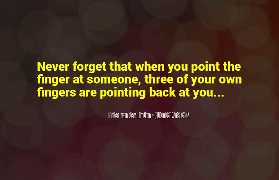 Pointing Finger Quotes #1371728