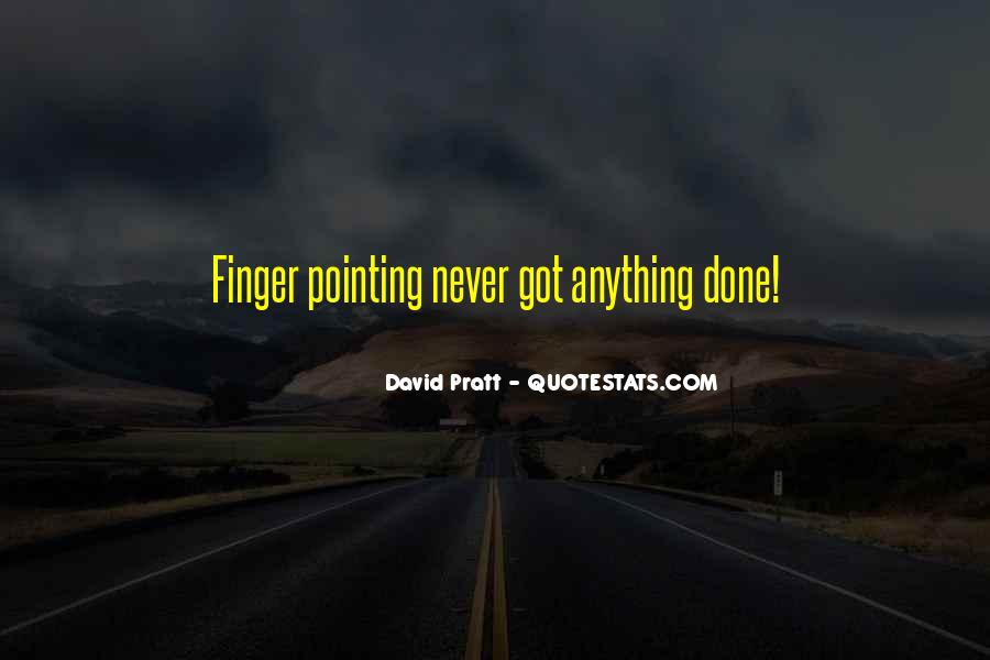 Pointing Finger Quotes #243268