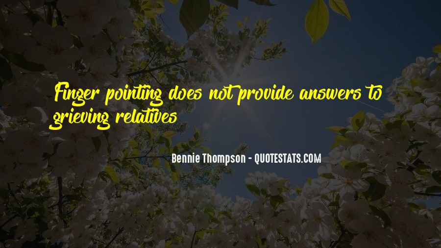 Pointing Finger Quotes #770632