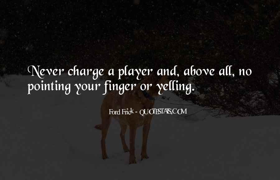 Pointing Finger Quotes #773951