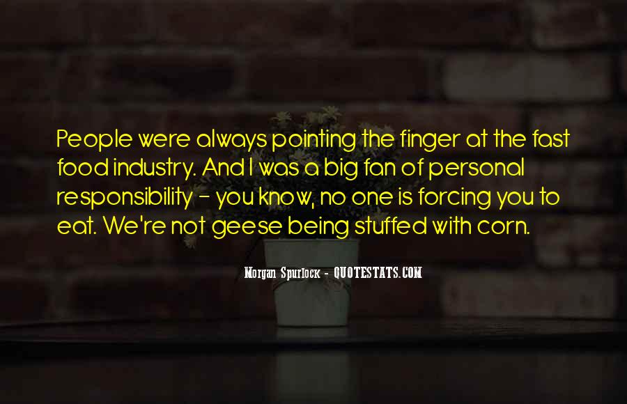 Pointing Finger Quotes #775616