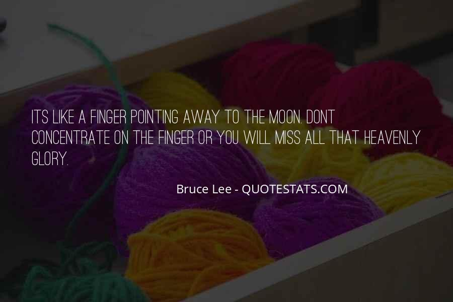 Pointing Finger Quotes #832455