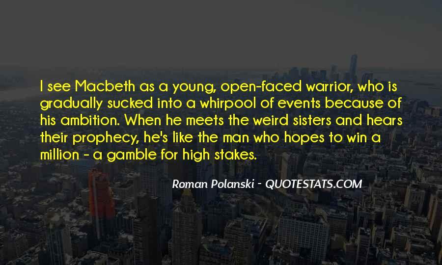 Polanski Macbeth Quotes #1559749