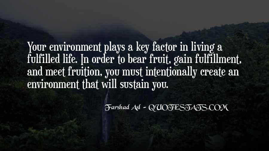 Quotes About Sustain #161955