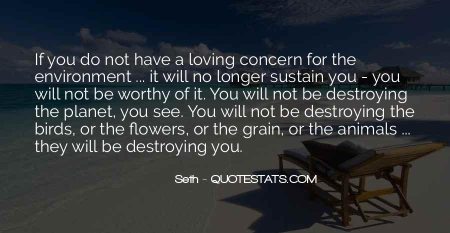 Quotes About Sustain #47349