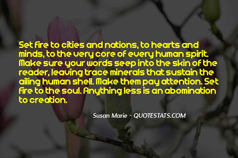 Quotes About Sustain #56690