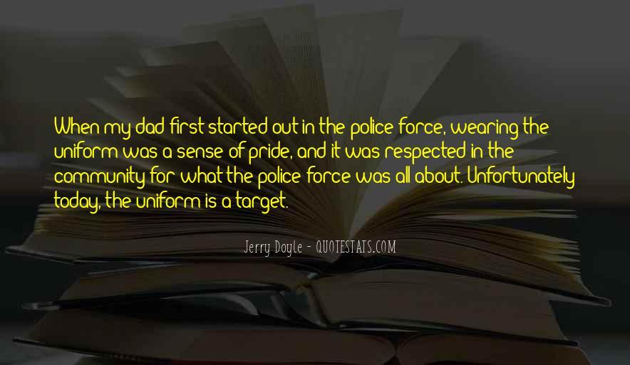 Police Uniform Quotes #1676412
