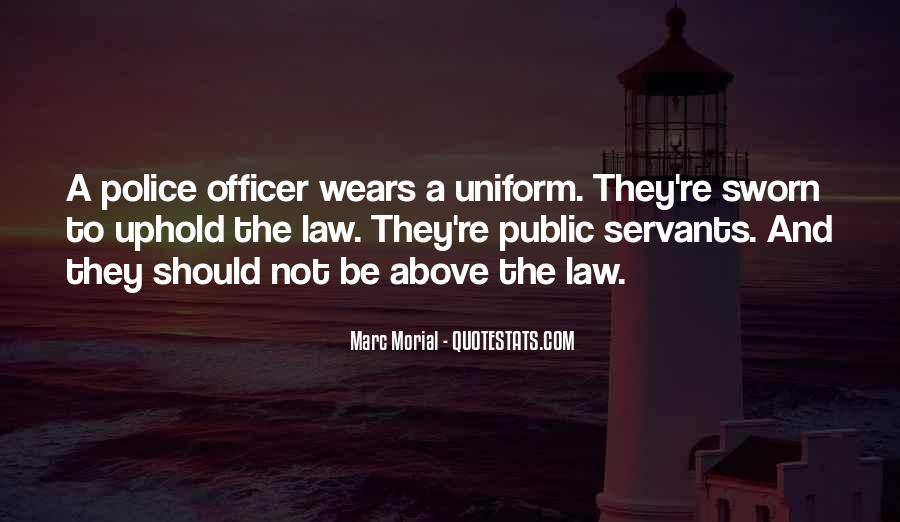 Police Uniform Quotes #1708569