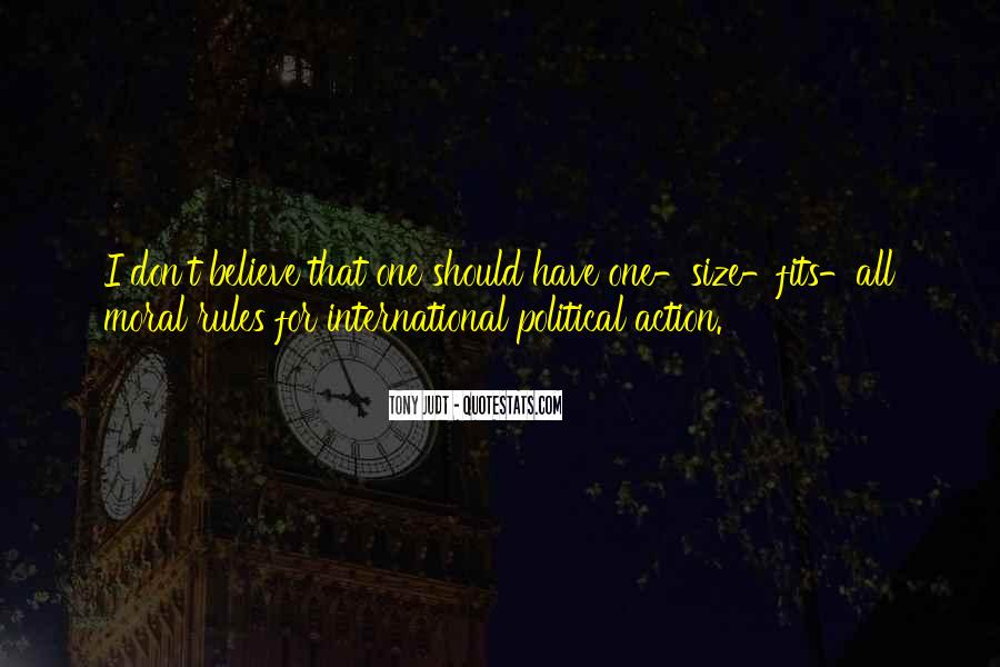 Political Action Quotes #1194539
