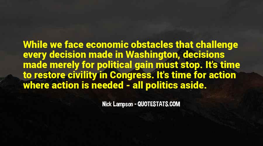Political Action Quotes #1367859
