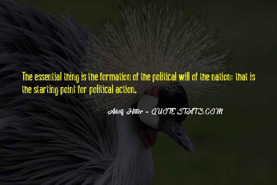Political Action Quotes #1384975