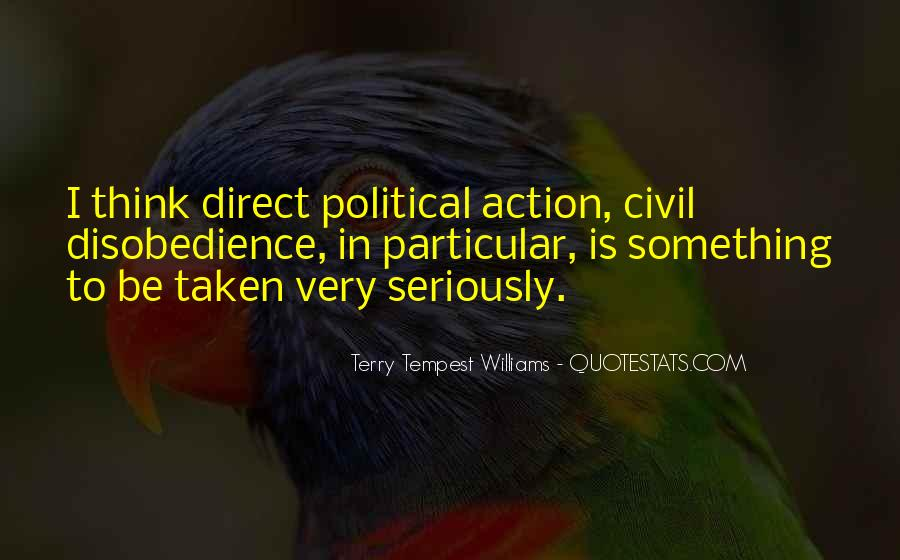 Political Action Quotes #387457