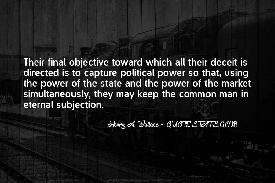 Political Deceit Quotes #230540